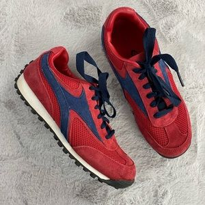 (5/$25) Athletic Works Red & Navy Sneaker Size 8